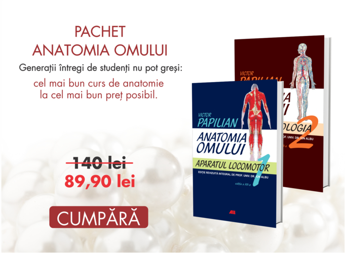 Pachet Anatomia omului - Victor Papilian