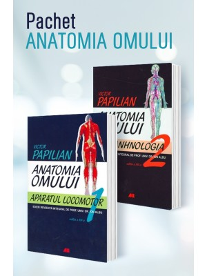 Pachet atlas Anatomia omului vol I + vol II