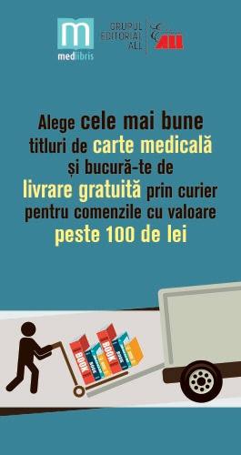 Transport gratuit cărți de medicina